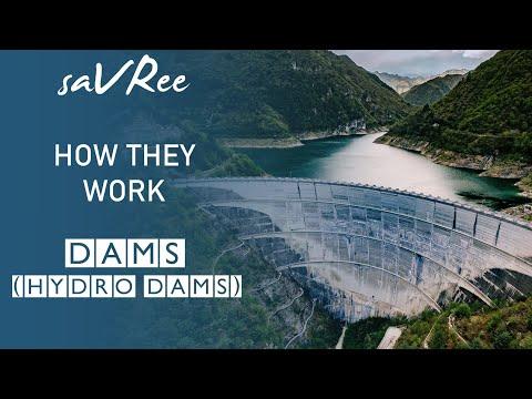 How Dams Work (Hydro Dams)
