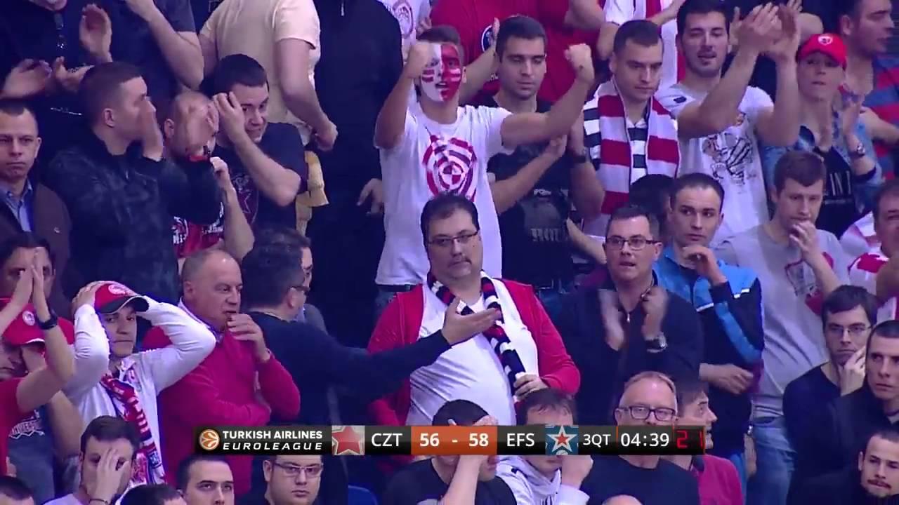 Maç Özeti   Kızılyıldız - Anadolu Efes