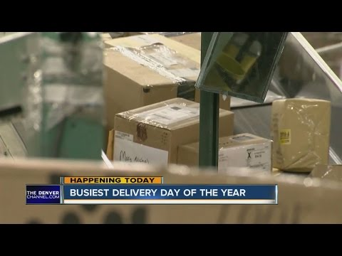 Busiest mailing day of the year for USPS