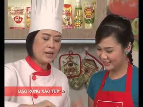 Hướng Dẫn Cách Nấu Ăn Món Đậu Rồng Xào Tép   Món Ngon Mỗi Ngày
