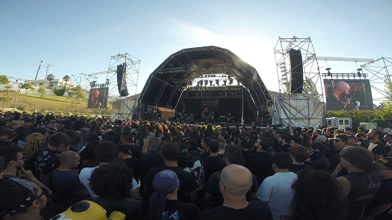Revolution Within Vagos Metal Fest Portugal YouTube - Vagos portugal map