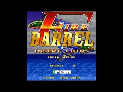 Fire Barrel Loop1 1993 Irem Mame Retro Arcade Games