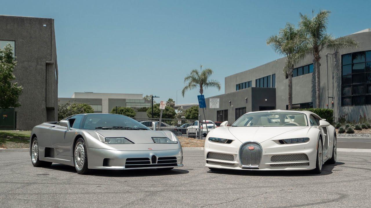 TEST DRIVING THE BUGATTI EB110! || Manny Khoshbin
