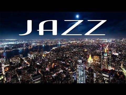 Smooth Night JAZZ - Saxophone Lounge JAZZ &  Night City - Night Traffic JAZZ