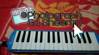 Photograph - Ed Sheeran - pianika cover