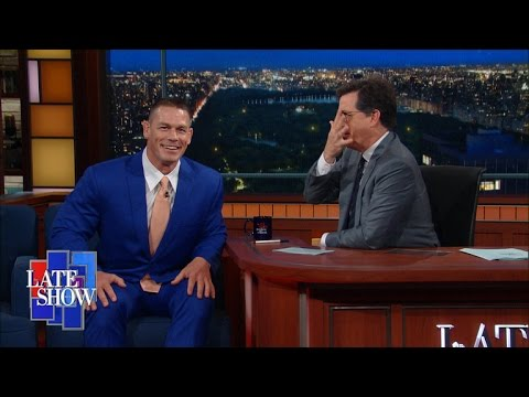 John Cena's Diet:  If It Breathes Or It's Green, I Eat It