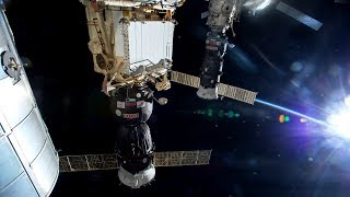 NASA/ESA ISS Space Station Livestream With Map - 47 - 2018-03-22