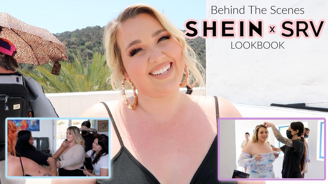 VLOG: Behind The Scenes of my #SHEINxSRV Lookbook in LA!| Sarah Rae Vargas