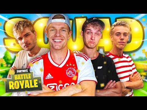 VOLLE SQUAD IN STEADY STORM WIN!! - Fortnite #126