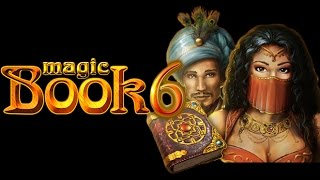 Magic Book 6 - Bally Wulff Merkur Spiel - 20 Freispiele