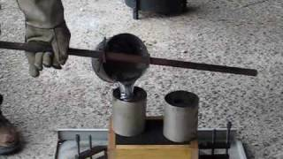 Metal Casting at Home  Part 13. Small Casting with Core.