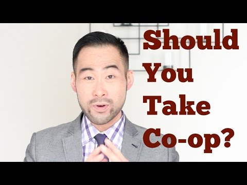 Should College or University Students Take Co-op?