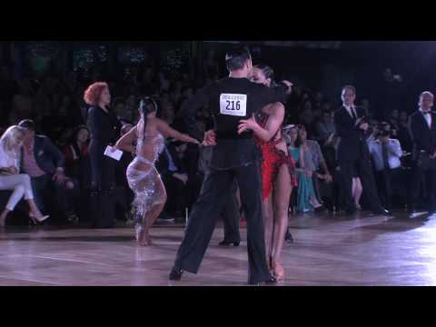 2016 Emerald Ball Dancesport Championships - Open Pro Int'l Latin 1st Round, Dance Ons & Finals
