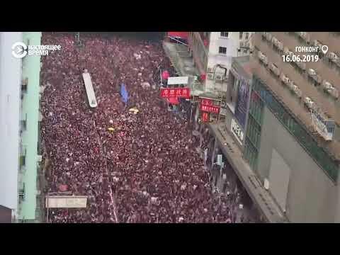 Вторую неделю в Гонконге продолжаются массовые протесты