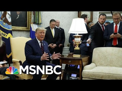 President Donald Trump On Turkey And The Kurds: 'They've Got To Work It Out' | MSNBC