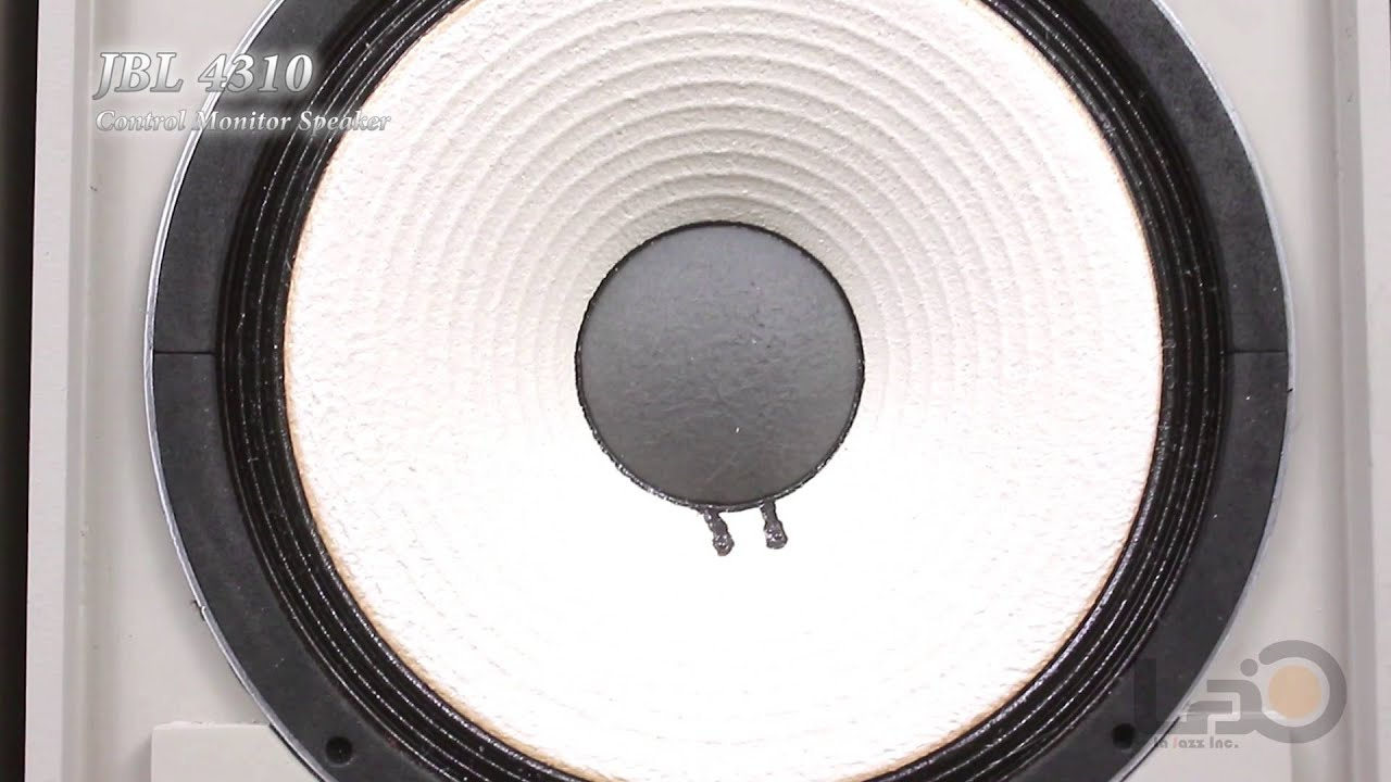 JBL Model 4310 Control Monitor Speaker (123A-1/LE5-2/LE20-1) - YouTube