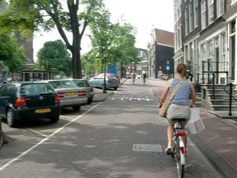 Amsterdam on a Bike