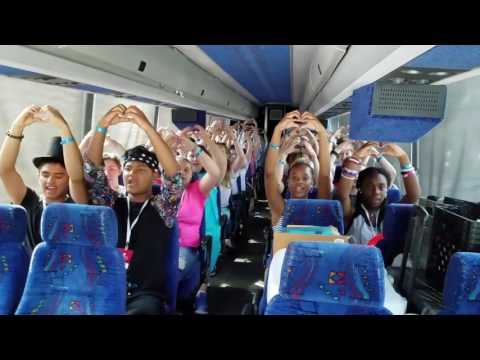 "Toki Middle School, Madison, WI, Bus 1, DC Trip 2016, ""God Bless the USA"" by Lee Greenwood"