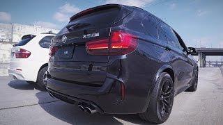 BMW X5M F85: тест-драйв и заезд с Tesla Model S