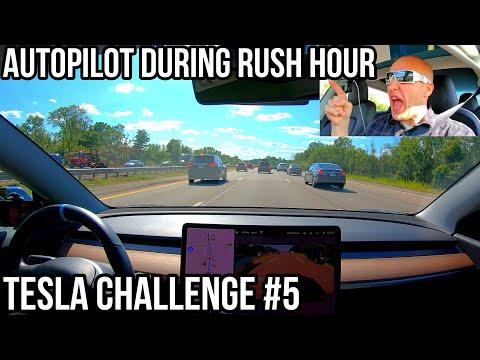Tesla Navigate on Autopilot passes rush hour traffic test with zero interventions