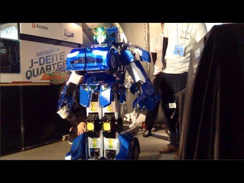 Jadeite Quarter: the real-life transformer robot