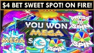 PROGRESSIVES GALORE!!!★Konami Star Watch Magma Slot Machine★ BIG WINS!