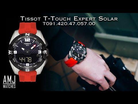 Tissot T-touch Expert Solar (T091.420.47.057.00) Demonstration
