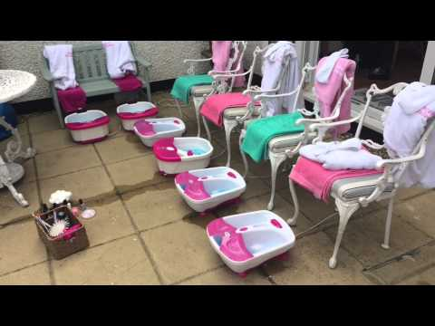 Pampered Angels Little Girls Spa Parties