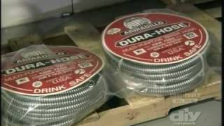 Armadillo Water Hose On Diy's Cool Tools