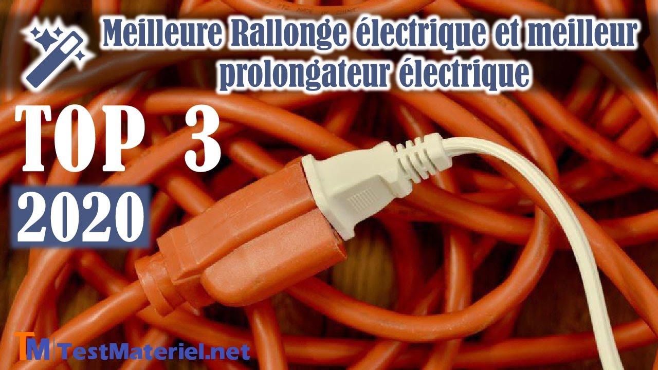 RALLONGE ELECTRIQUE EUROPEENNE TYPE F 10 METRES ETANCHE IP44 PRISES SCHUKO