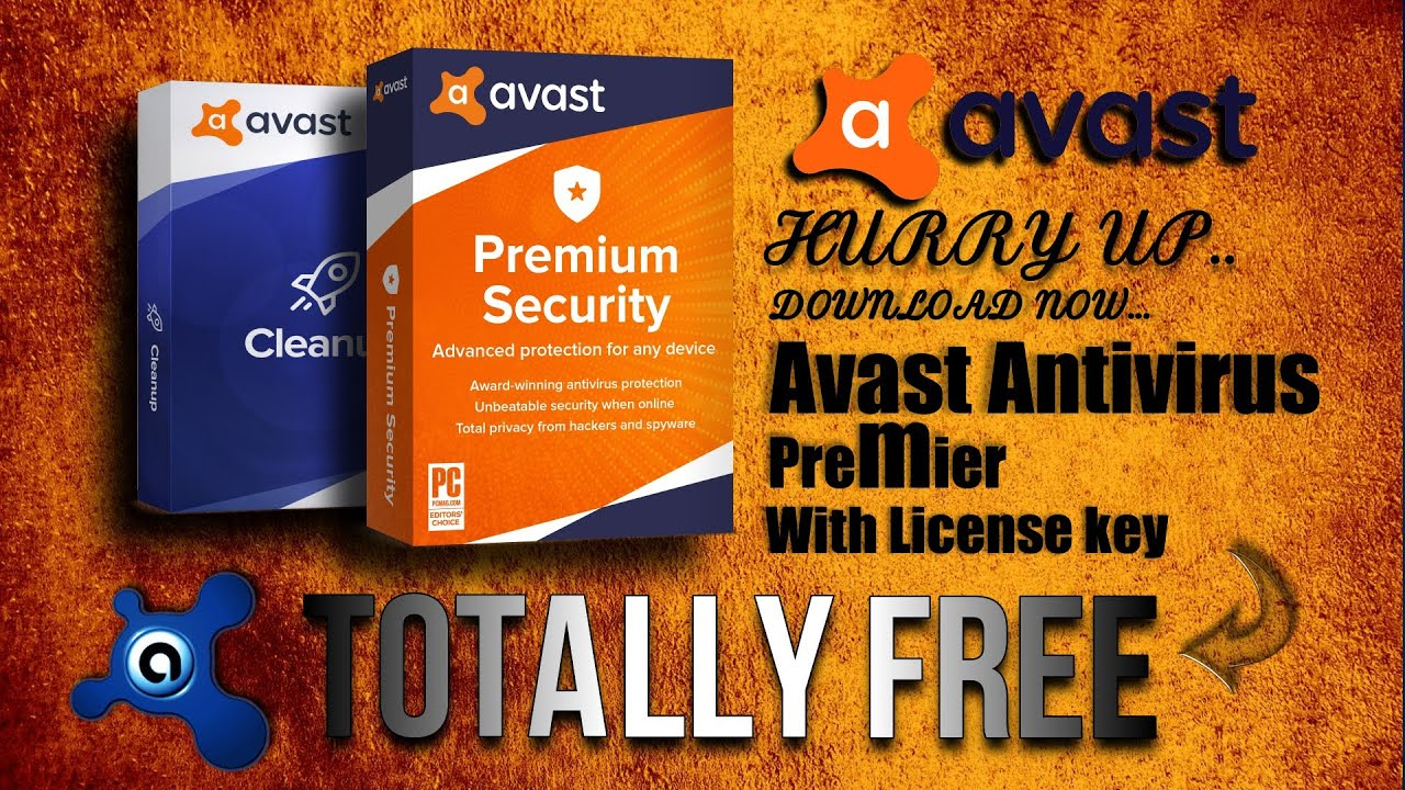 Avast Antivirus Premier full version + With License key _1000% FREE