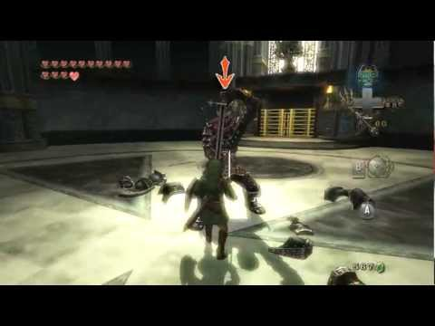 [HD] Zelda Twilight Princess Mini Boss - Darknut