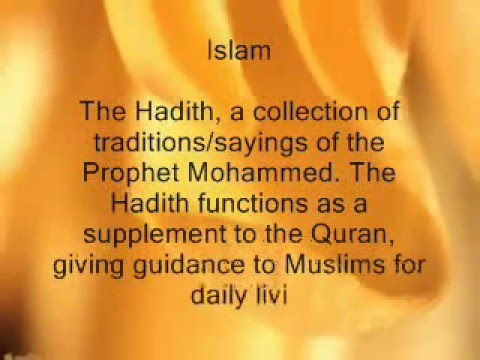 The difference between Islam and Christianity and Judaism.wmv