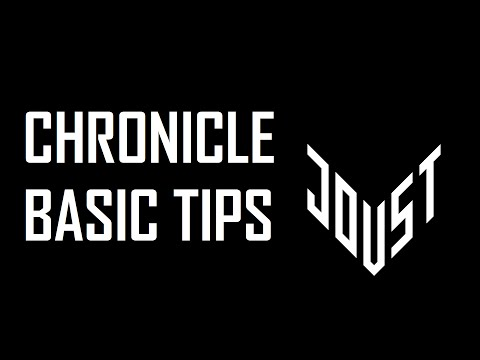 [CHRONICLE] Basic Tips
