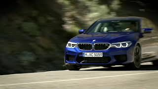 WORLD PREMIERE BMW M5 with M xDrive, Marina Bay Blue Metallic