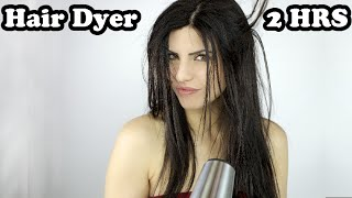 hair dryer sound relax sleep music relaxing sounds white noise asmr 2hrs