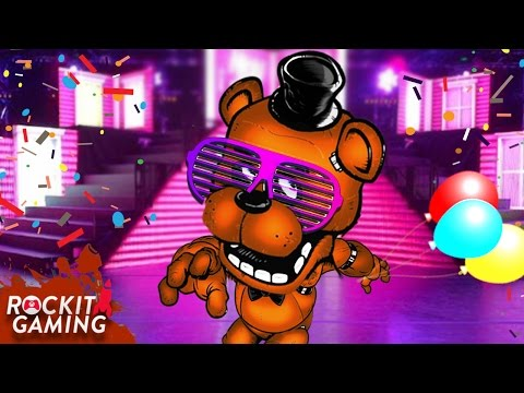 """FNAF Sister Locaton Custom Night Rap Song """"Five Nights To Party""""   Rockit Gaming Records"""