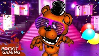 FNAF Sister Locaton Custom Night Rap Song 'Five Nights To Party' | Rockit Gaming Records