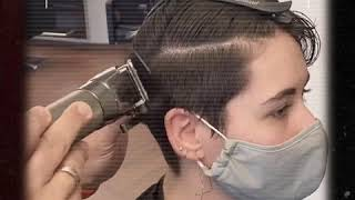 "💯 SALON ""live"" VIDEO: Feather Razor Boyish Cut"