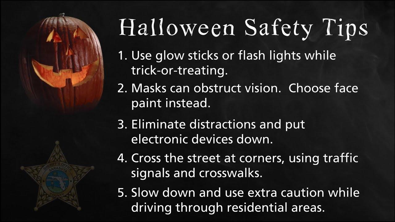 Halloween 2020 Safety Tips Halloween Safety Tips   YouTube