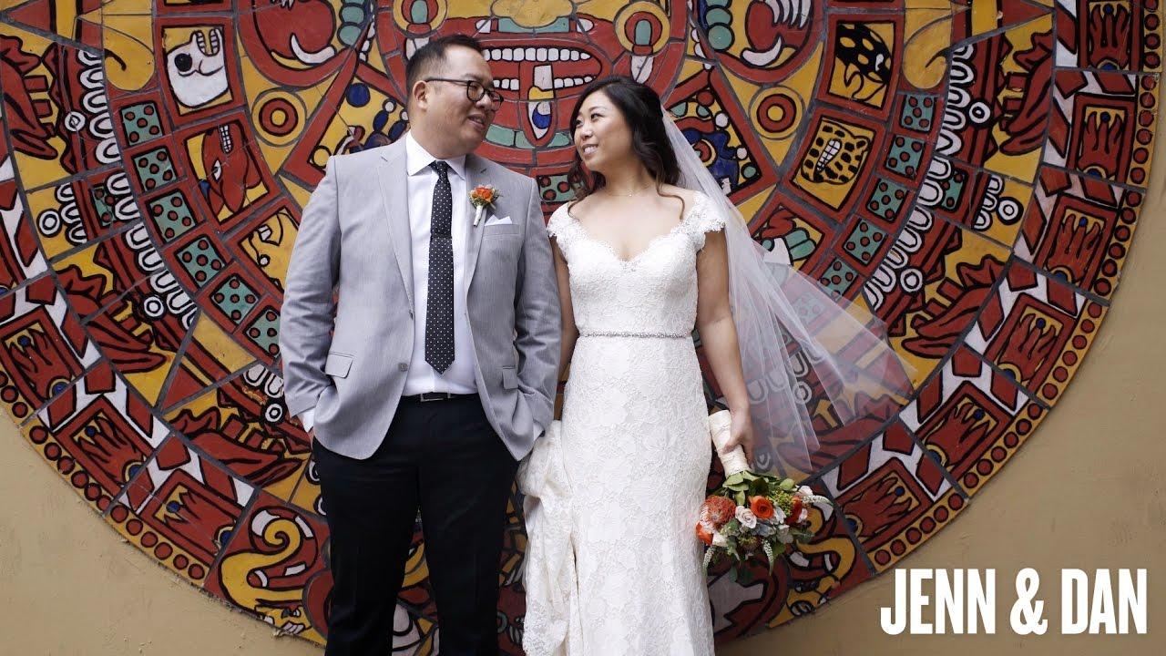 Los Angeles, California Wedding Video | Millwick | Jenn + Dan