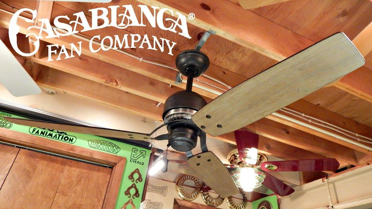 Casablanca Tribeca Ceiling Fan - YouTube