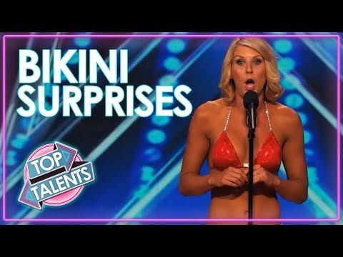 Bikini Girls Surprise Audition On American Idol, America's Got Talent & X Factor UK!