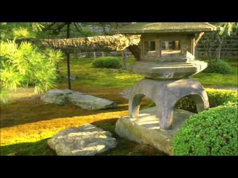 Japanese Gardens - SlideShow With Relaxing Ambient Music
