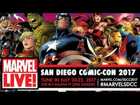 Marvel LIVE! at San Diego Comic-Con 2017 – Day 1