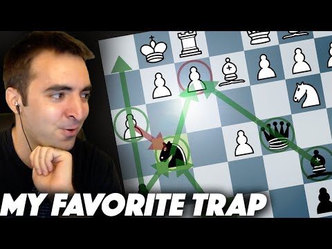 Trapping a Grandmaster in 7 Moves | Stafford Gambit