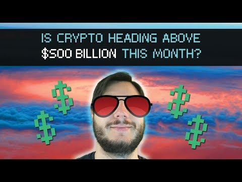 Can Crypto Get Above $500 Billion Again? and LTC EOS DGB TRX XLM Charts