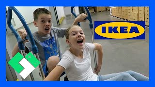 KIDS EXPERIENCE IKEA FOR THE FIRST TIME (Day 1809)
