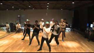 Big Bang - Tonight mirrored Dance Practice