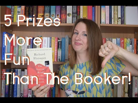 5 literary prizes more fun than the Booker!